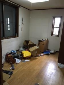 一軒家の片付け 引越し荷物 遺品整理